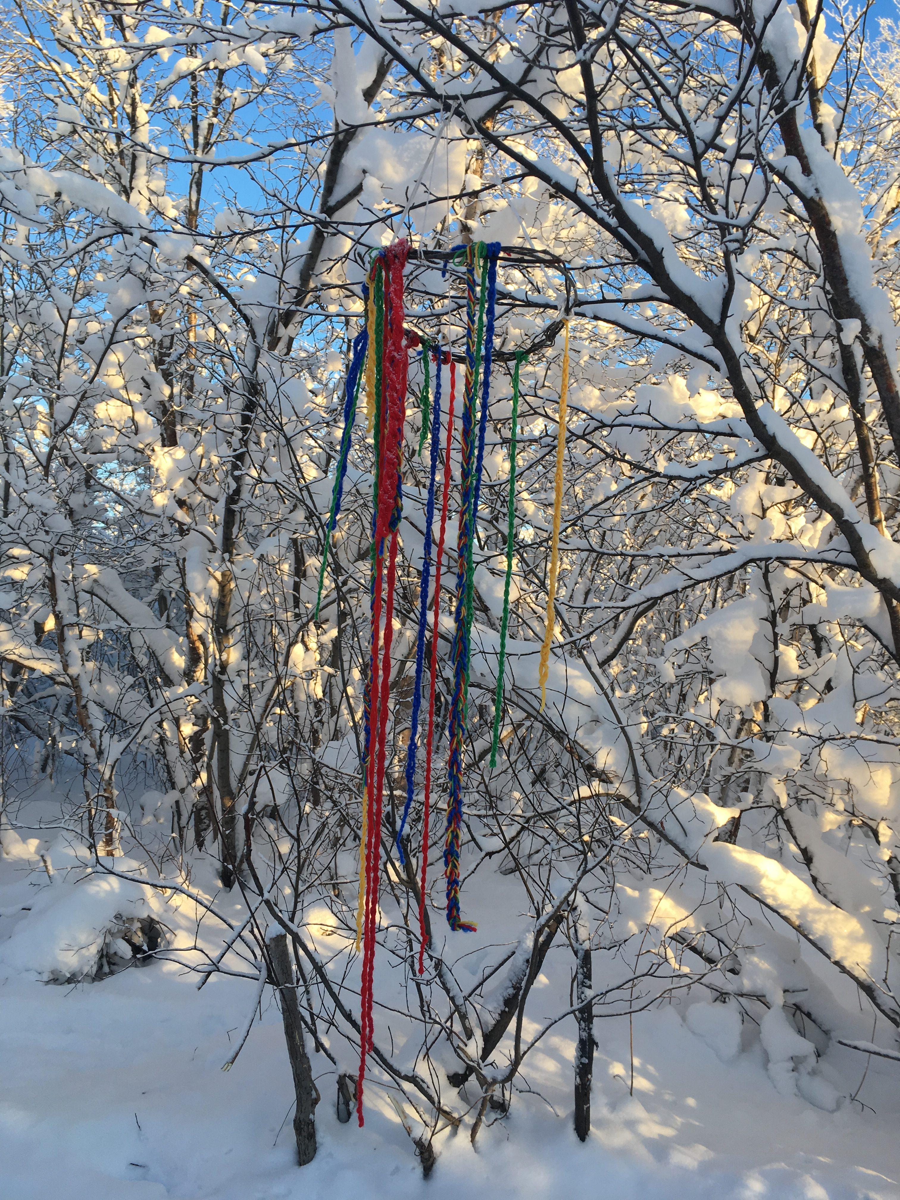 Beskyttet: Bilder fra markering av samisk uke i barnehagen