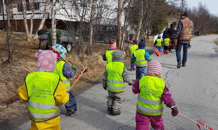 Beskyttet: 17.mai feiring i barnehagen
