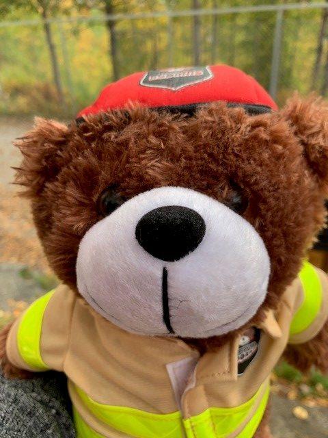 Beskyttet: Brannvesenet kom på uventet besøk :)