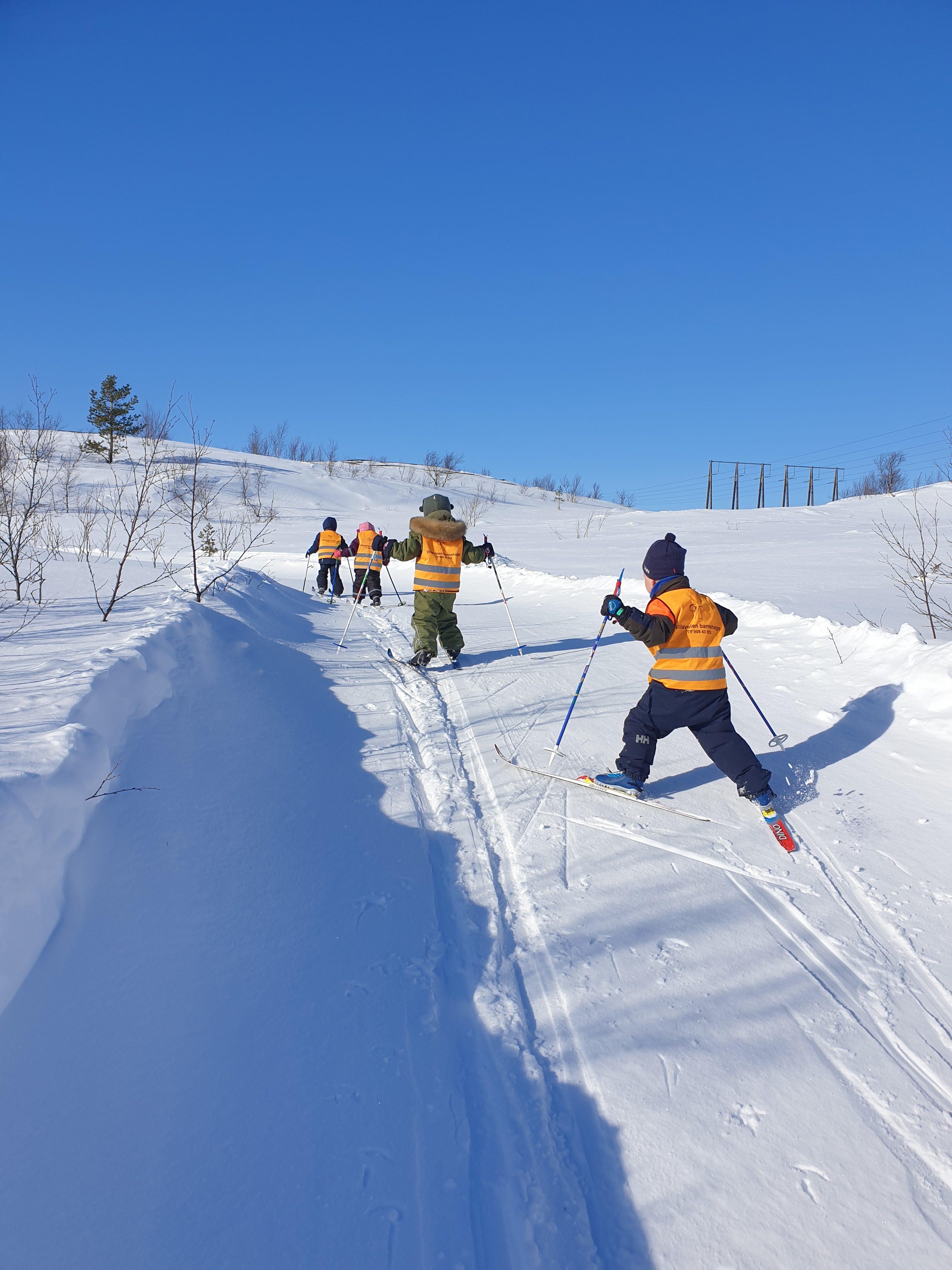 Beskyttet: Gruva på skitur